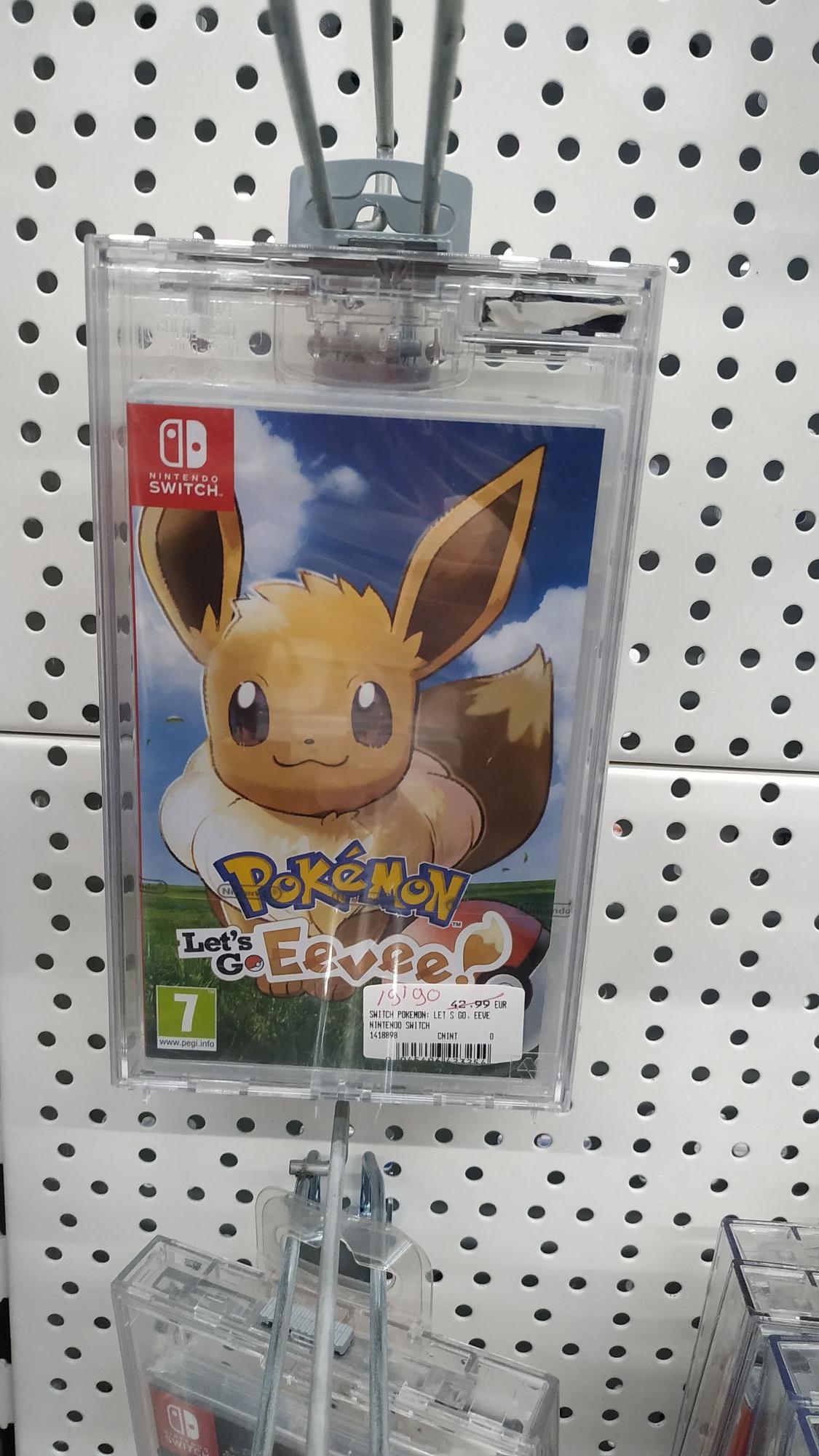 Pokémon Let's GO Eevee (Vista Hermosa)