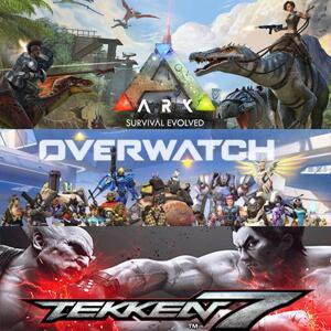 Juega gratis ARK Survival Evolved, Tekken7 y Overwatch @XBOX