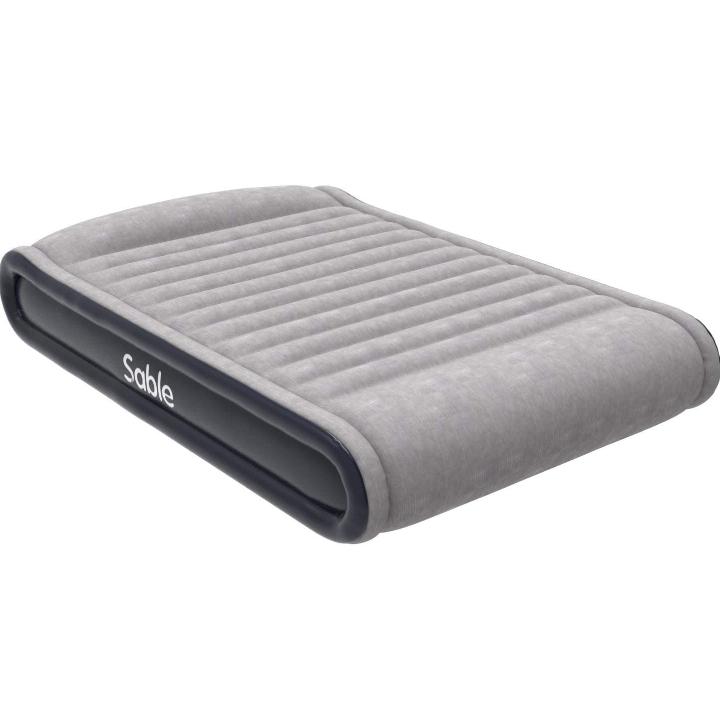 Colchón inflable Sable con bomba eléctrica y almohada integrada