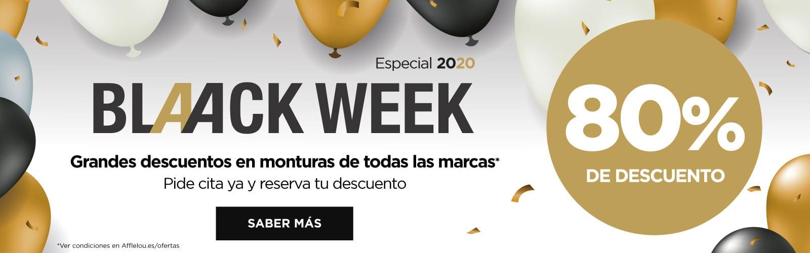 Black week en Alain Afflelou hasta el lunes 80% en monturas