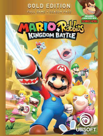 Mário + Rabbids Gold Edition Nintendo Switch