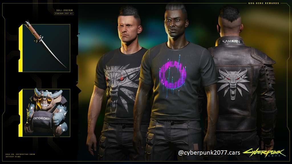 Ítems gratuitos en Cyberpunk 2077 al conectar el juego con GOG