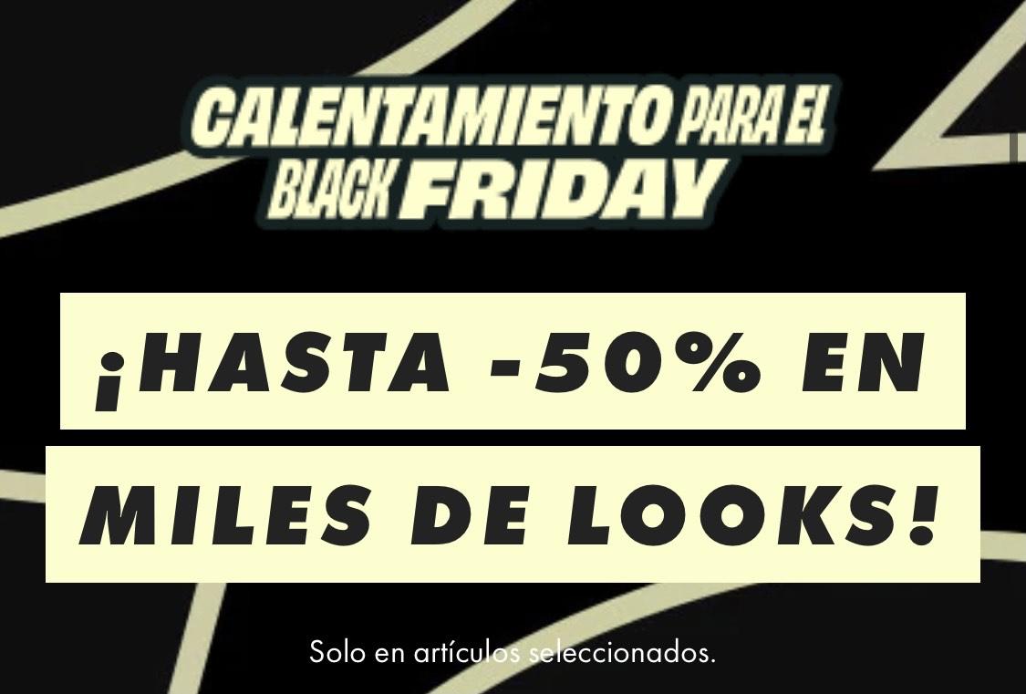 Calentamiento para el Black Friday en ASOS