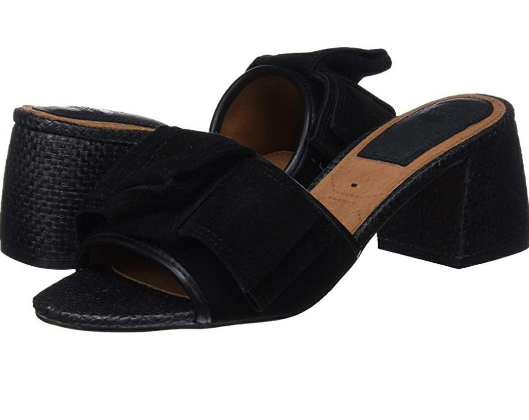 TALLA 39 - GIOSEPPO 44088, Zapatos de tacón con Punta Abierta Mujer