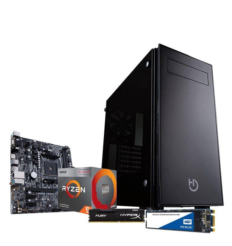 PC BLACK FRIDAY 2020 M - RYZEN 5 3400G 8GB 500GB SSD envio y montaje gratis