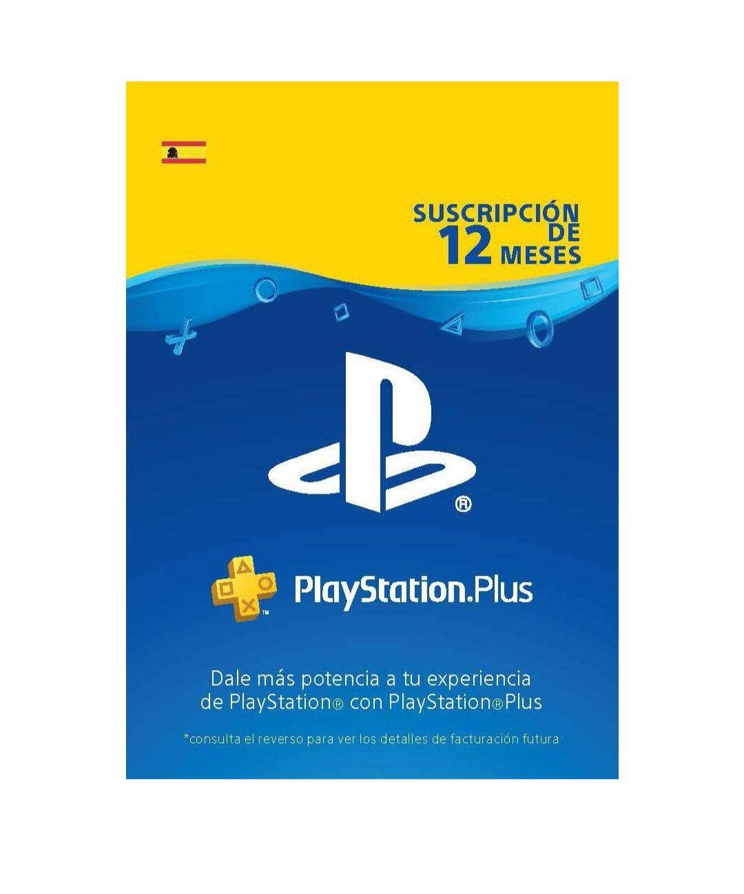 PlayStation Plus Suscripción 12 Meses