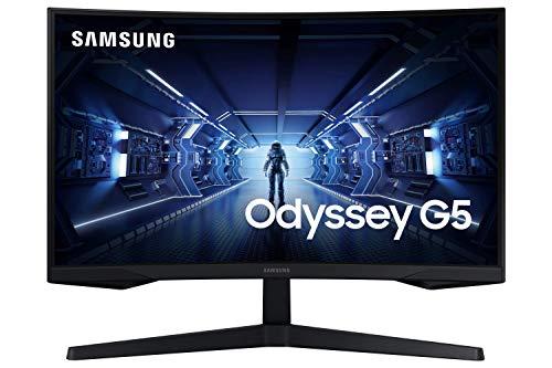 Samsung LC32G53TQWUXEN - Monitor curvo 32'' WQHD (2560x1440, 16:9, 2500:1, 1000R, 144 Hz, 1 ms, 250 cd/m², HDR10, AMD FreeSync Premium)