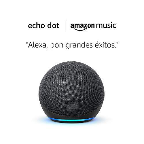 Echo Dot 4ª generación + 6 meses Amazon Music Unlimited