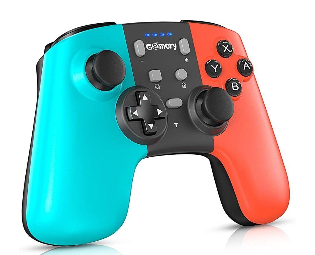 Mando Pro Controller Nintendo Switch,pc Inalambrico,Bluetooth,Dual Shock(precio mínimo)
