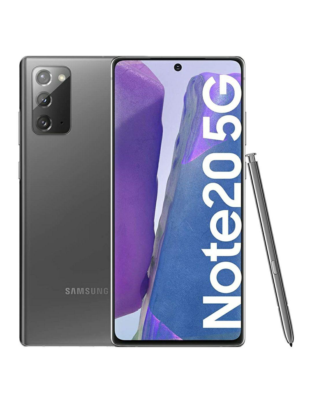 "Samsung Galaxy Note 20 Gris de 6,7""/5G/8Gb RAM/256Gb ROM/Android 10"