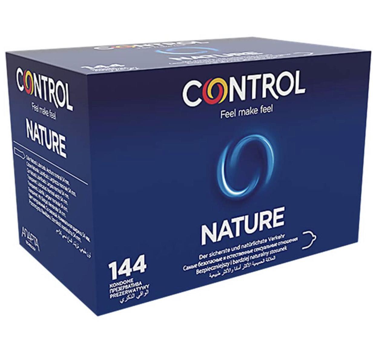 Control Nature Preservativos - Caja de condones con 144 unidades