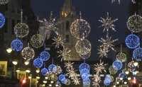 Servicio gratuito de taxis para que los mayores puedan ver las luces de Navidad