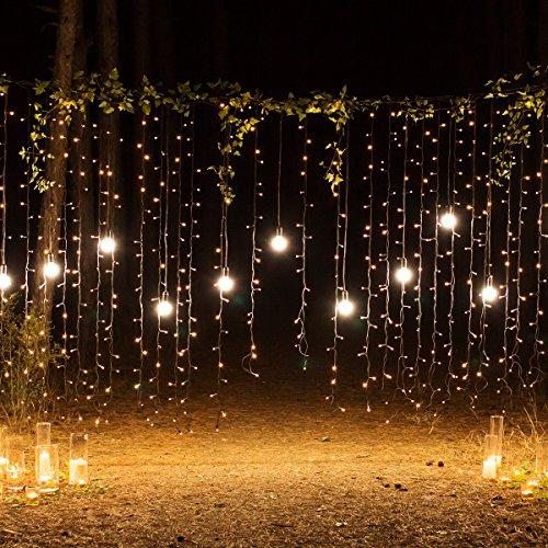 Luces de navidad - 200pzas de mini LEDS blanco cálido
