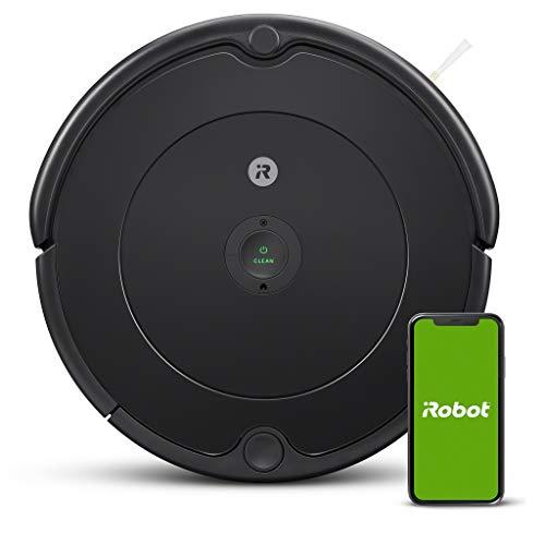 iRobot - Robot aspirador Roomba 692 Wifi, para alfombras y suelos, Dirt Detect, Sistema de limpieza en 3 fases, Smart Home y control App