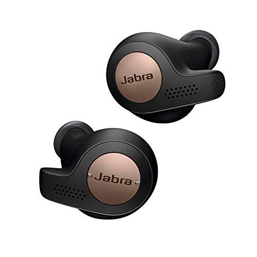 Jabra Elite Active 65t – Auriculares Deportivos Bluetooth con Cancelación Pasiva de Ruido y Sensor de Movimiento