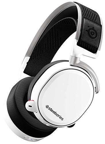 Reacondicionados muy bueno estado o como nuevo SteelSeries Arctis Pro Wireless - Auriculares inalámbricos (2,4 G y Bluetooth) - Blanco