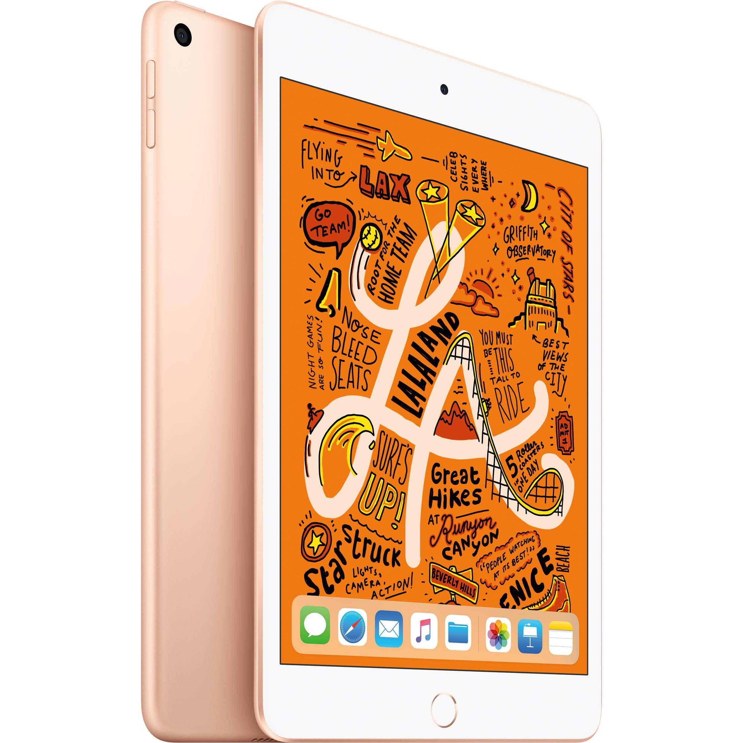 Apple iPad mini (2019) MUQY2 64GB Wifi - Oro (con 1 año de garantía oficial de Apple)