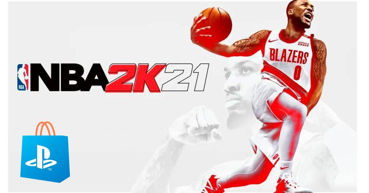 NBA 2k21 en PS4 Store