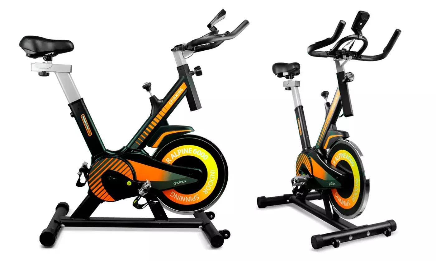 Bicicletas de spinning estáticas Alpine