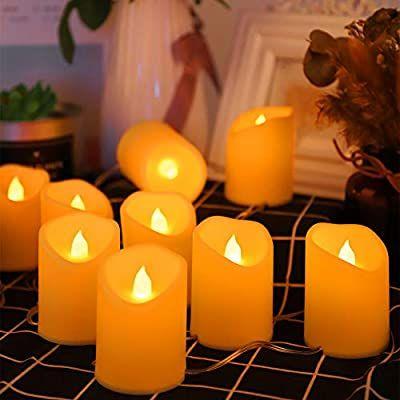 Guirnalda velas led.