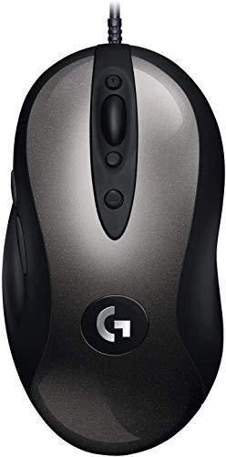 Logitech G MX518 Gaming Mouse HERO Sensor 16,000 Dpi ARM Processor 8 botones programables