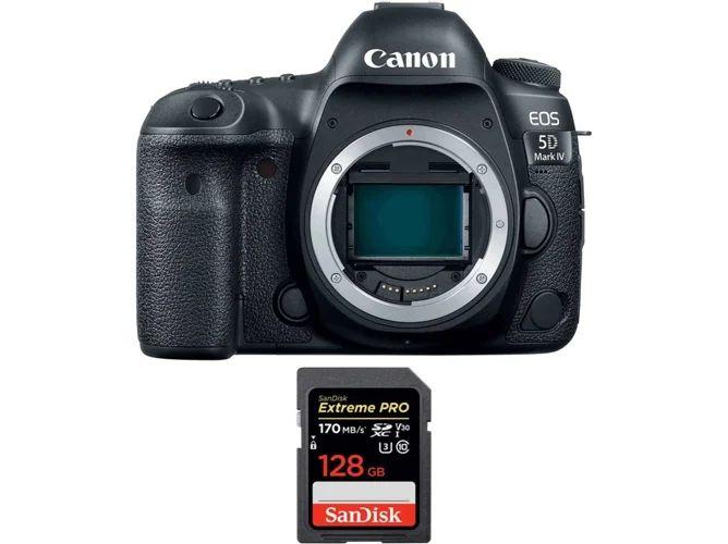 Kit Cámara Réflex CANON EOS 5D Mark IV+ 128GB
