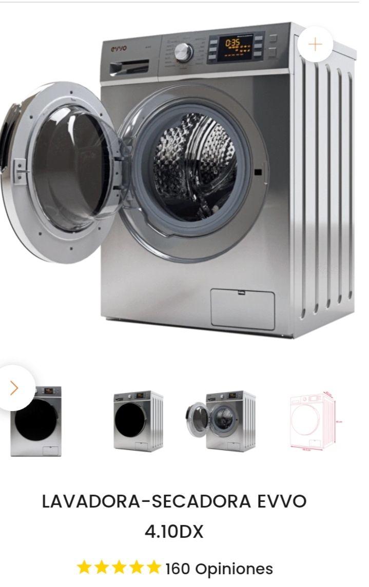 LAVADORA-SECADORA EVVO 4.10DXLavadora secadora diseño, eficiencia,calidad al mejor precio