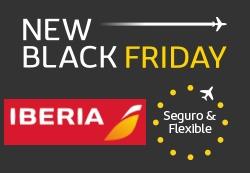 'New Black Friday' de Iberia - Campaña vuelos x menos de 30€ España