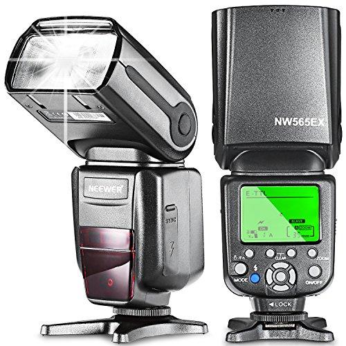 Neewer NW565EX E-TTL Flash Esclavo Speedlite para Canon