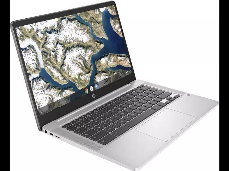 "HP Chromebook 14a-na0004ns, 14"" HD, Intel® Celeron® N4020, 4GB, 64GB, Chrome OS, Plata"