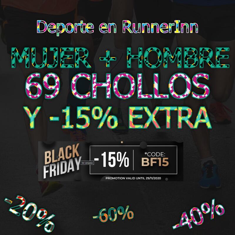 Ponte en forma SIN excusas esta Blackweek - 69 Chollos Y -15% EXTRA RunnerInn