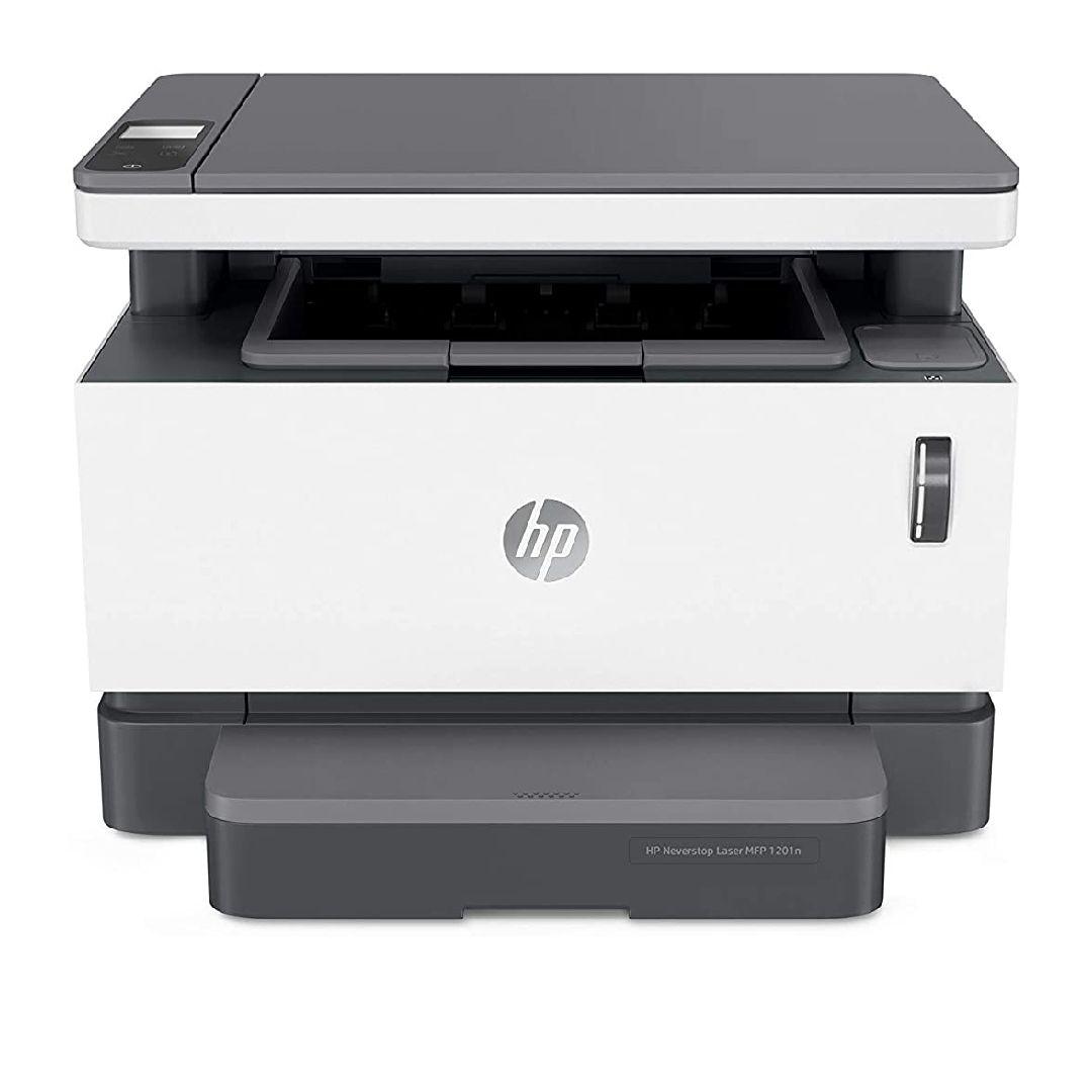 HP Neverstop Laser 1001nw – Impresora con depósito de tóner para imprimir hasta 5000 páginas,