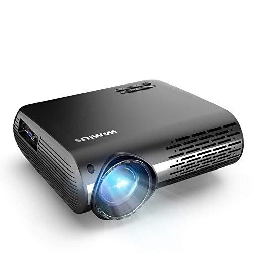 Proyector, WiMiUS 7000 Lúmenes Proyector Full HD 1920x1080P Nativo Reaco - Como Nuevo