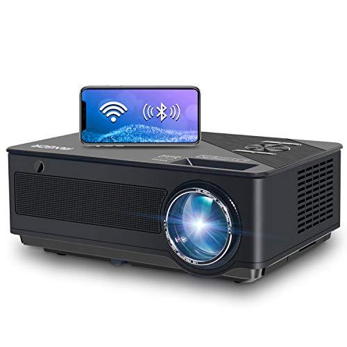 Proyector, FANGOR 7500 Lúmenes Full HD WiFi Proyector 1080P Reaco - Como Nuevo