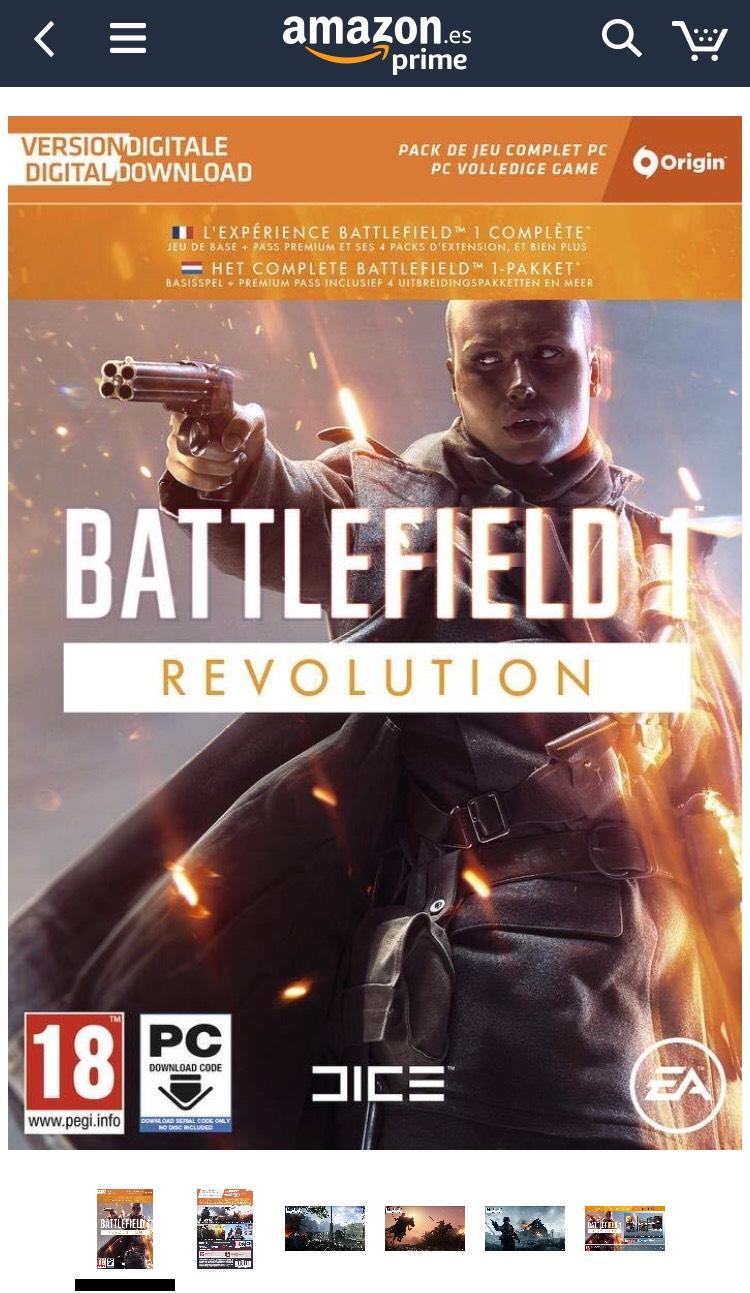Battlefield 1 + DLCS