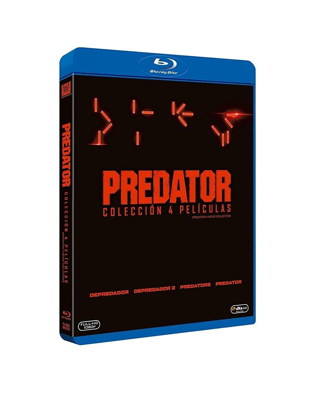 Colección 4 películas Predator