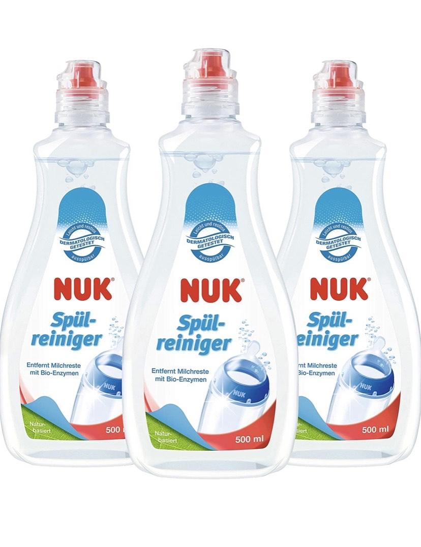 Pack de 3x500 ml NUK Detergente para Biberones
