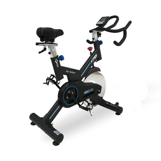 Bicicleta De spinning Con Manillar De Triatlón, Volante De Inercia De 24 Kg