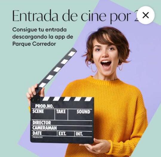 Entrada de cine por 2 euros en CC Parque corredor (Torrejón de Ardoz, Madrid)