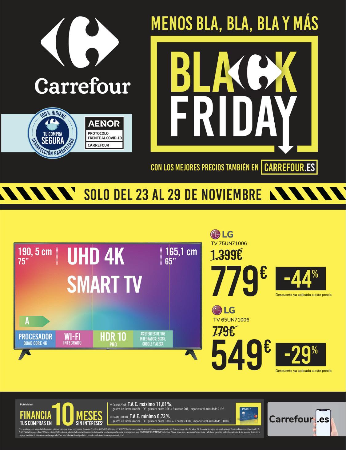 Folleto Black Friday Carrefour (Entero en la descripción)