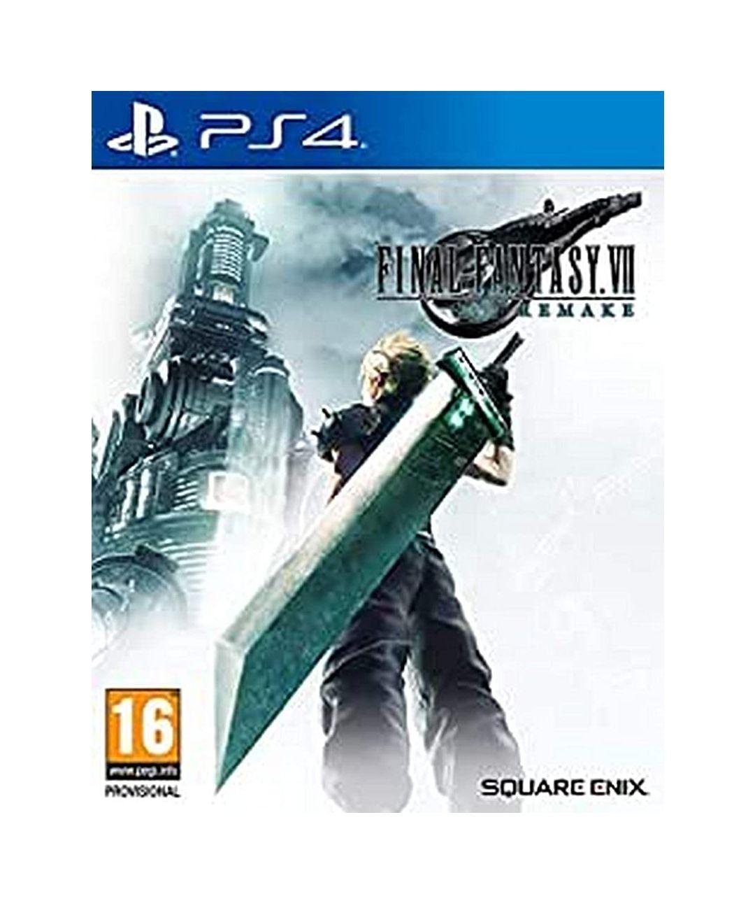 Final Fantasy VII Remake PS4 (Amazon)