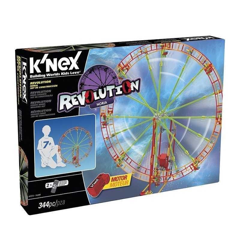 K'nex Revolution - Noria 344 piezas con motor