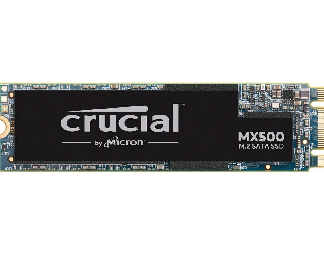 Crucial MX500 M.2 500GB (M.2 2280SS, 3D NAND, SATA)