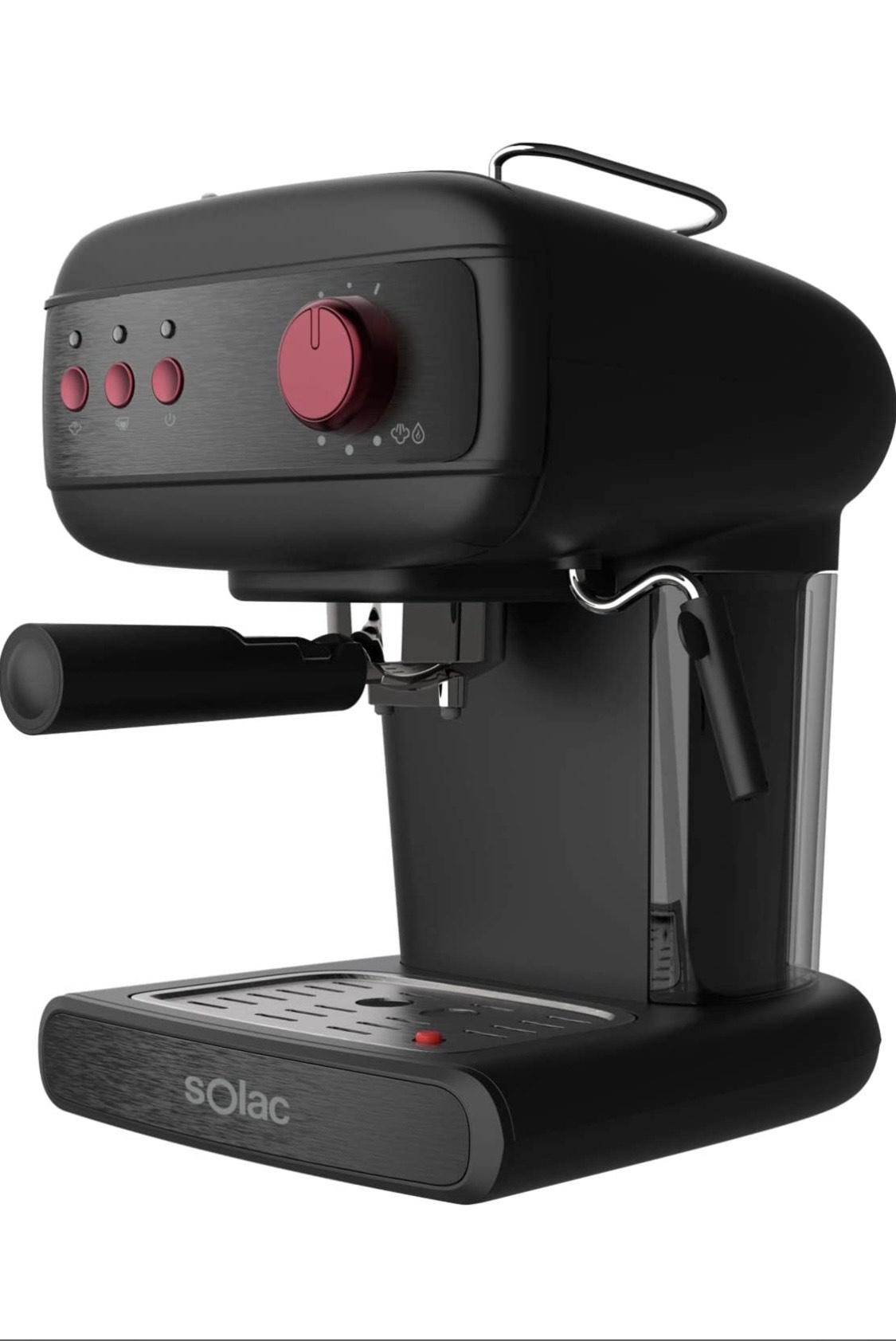 Cafetera Espresso SOLAC Black-Friday