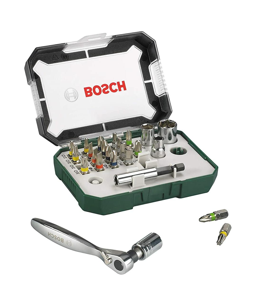 Set Bosch Herramientas Mini 26 piezas