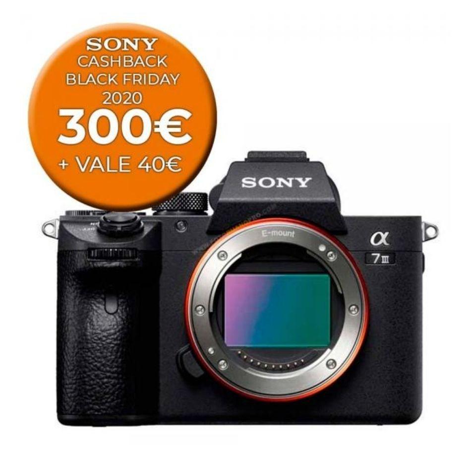 Sony Alpha 7III Con cashback de 300€ + 40€ en fotoruanopro