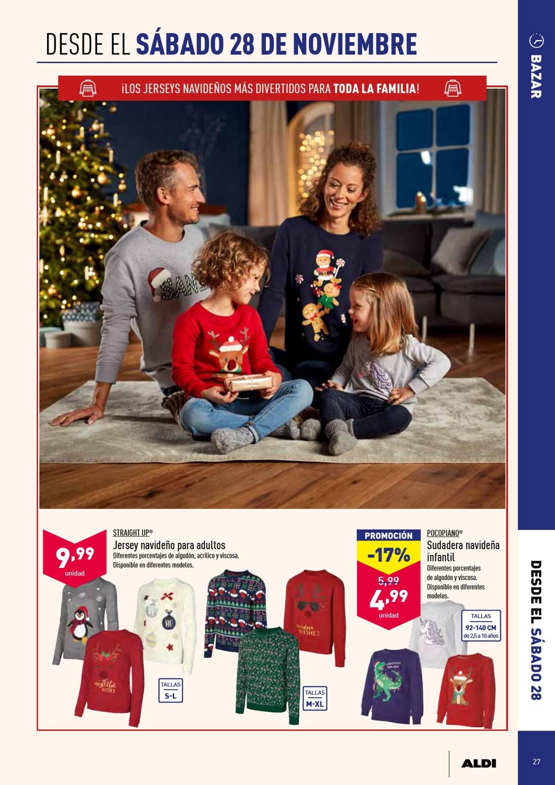 Recopilación ropa navideña Aldi (Jerseys, gorros...)