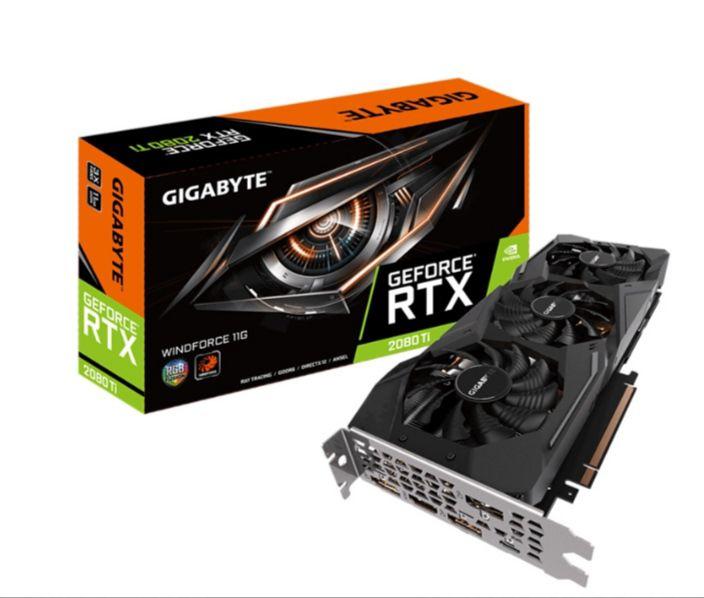 GIGABYTE GEFORCE RTX 2080 TI WINDFORCE 11GB GDDR6