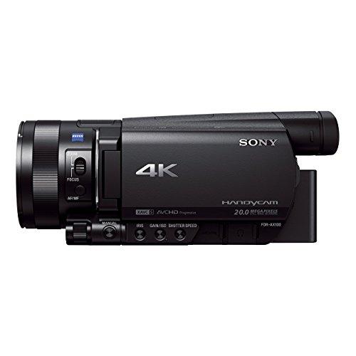 """Sony FDR-AX100E Handycam - Videocámara de 14.2 MP con Pantalla de 3.5"""" y WiFi"""