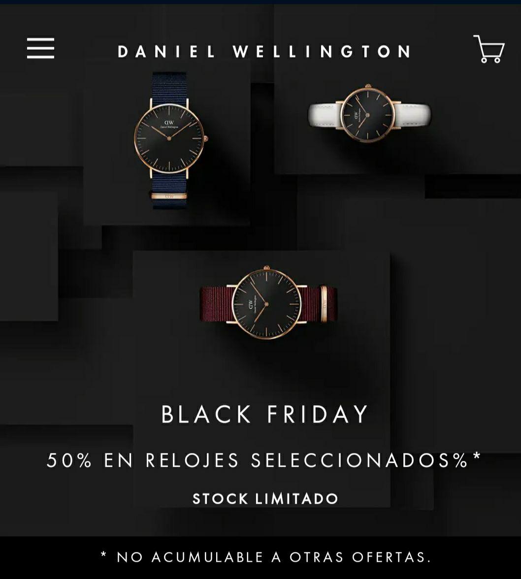 Relojes Daniel Wellington -50%